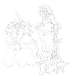 Raegis and Friend - Sketch