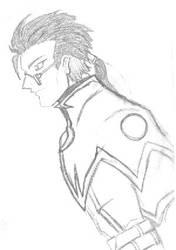 Arikon in profile view