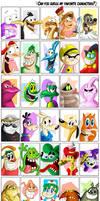 Favorite Characters Meme