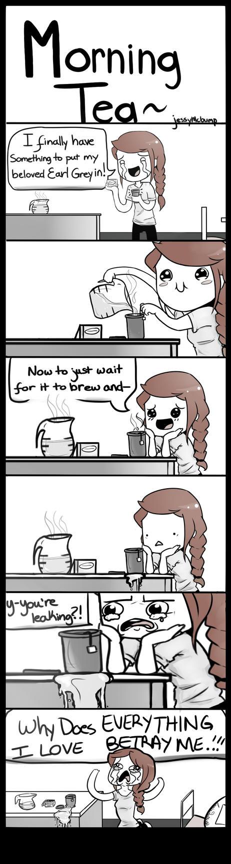 Morning Tea by JessyMcBump
