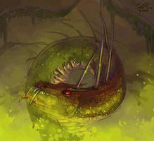 Wywern-monarch by firael666