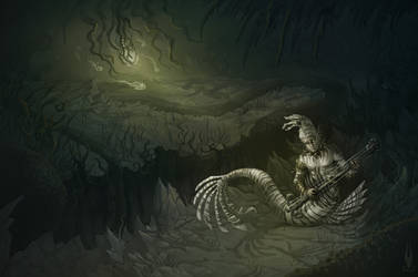 Be quiet in the deep