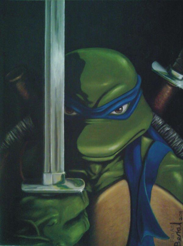 Leonardo -TMNT- by Beralismo
