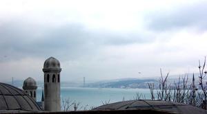 bosphorus bridge from.. by gigimo