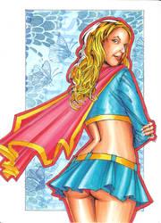 Supergirl by DavePLynch