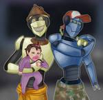 robot dads