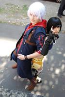 Nero and Yuffie by Schpog