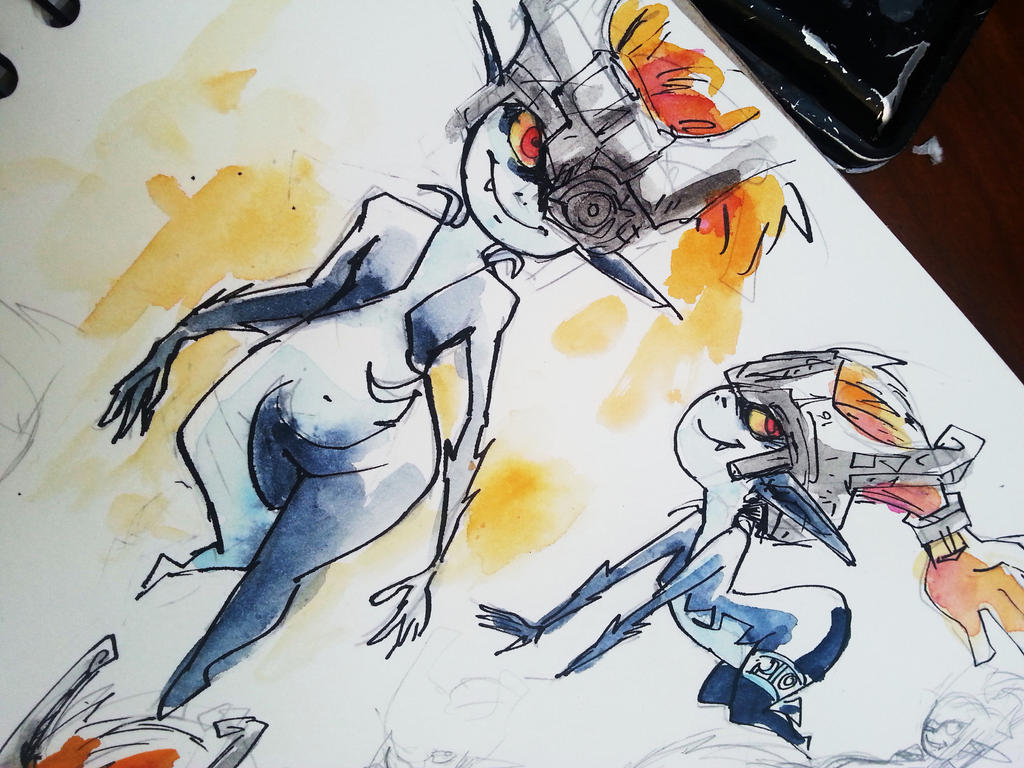 Sketchbook Midna by Schpog