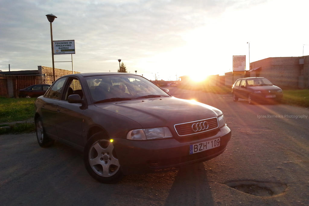 Sunset Audi [8MP] by Ignas357