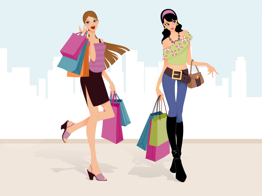 free clipart clothes shopping - photo #22