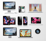 Free Apple Product Vector Pack
