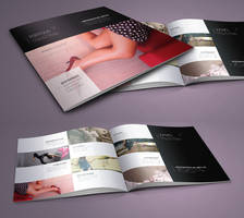 Free Fashion Catalog Template by Pixeden