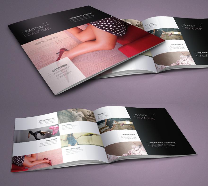 Free Fashion Catalog Template by Pixeden on DeviantArt