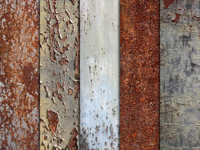 Rusty Textures Pack 1 by Pixeden