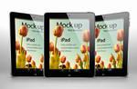 Free iPad Psd Vector Mockup Template