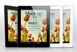 Free iPad 2 Psd Vector Mockup Template