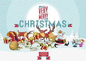 Free Christmas Vector Art Characters Pack