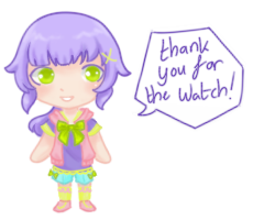 Thank You Sign With Oc For Watch by ArtNote