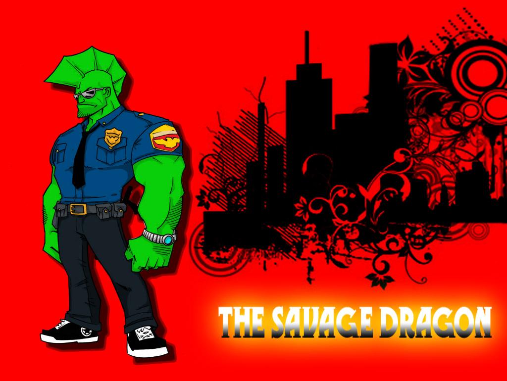 SAVAGE DRAGON WALLPAPER By Chungusamongus