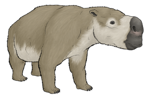 Diprotodon by WSnyder