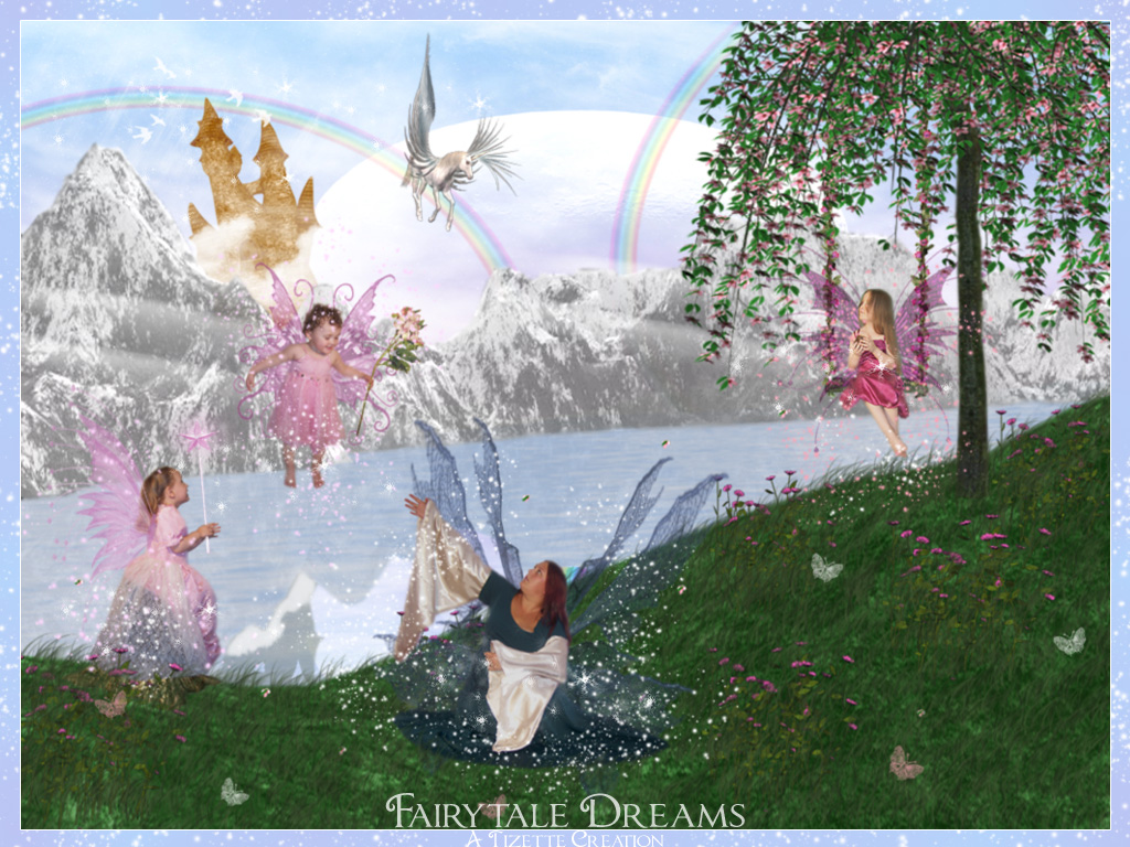 Fairytale Dreams by Tizette-Creations