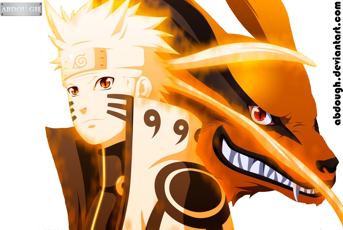 Naruto Shippuden Kurama Naruto And Kurama by A...