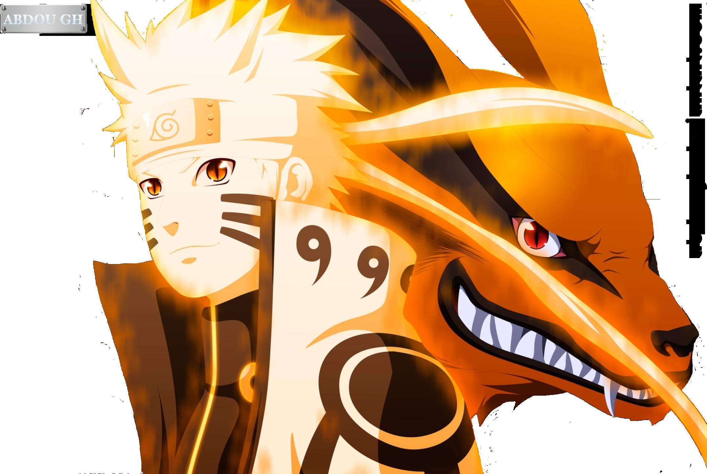 Naruto and kurama by abdough on deviantart - Naruto renard ...