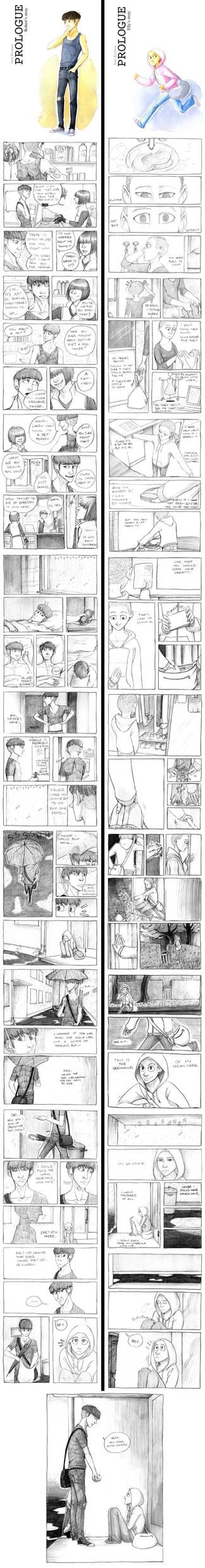 Hideout 6 Prologue comics
