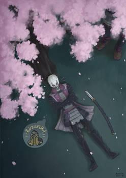 Sengoku Basara - Angry under the sakura