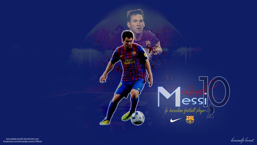Lionel Messi Wallpaper By KonuralpLeventArt