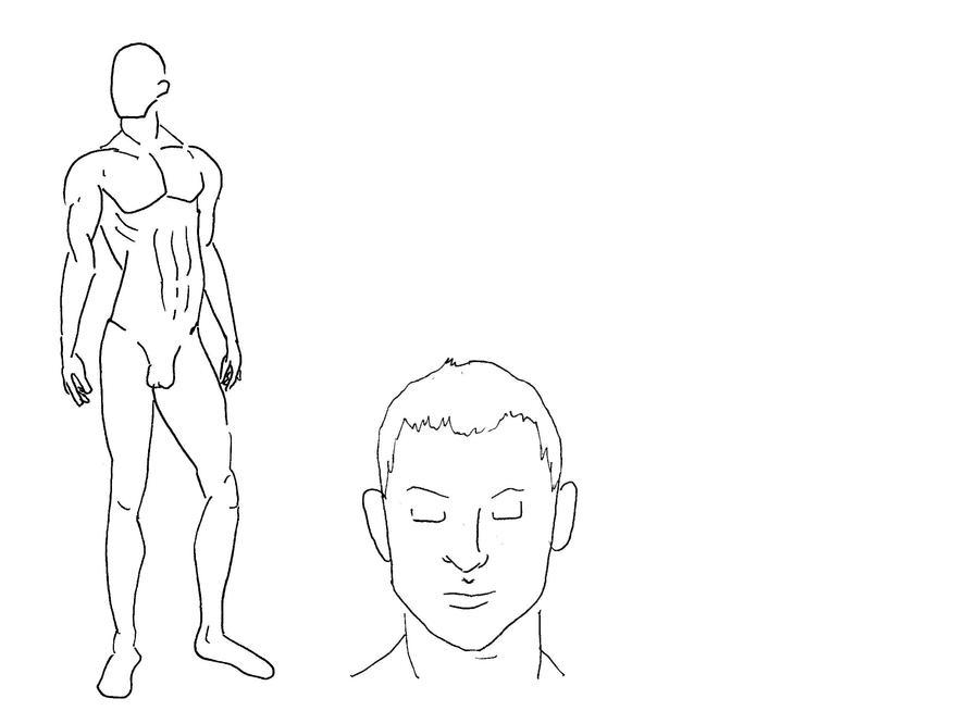 male croquis worksheet 1 by cirk