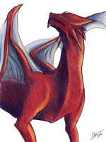 Red sketch by SheQli