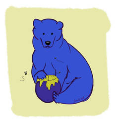 Huevember 2018 - A bear by SheQli