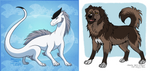 Collaboration with Zerwolf by SheQli