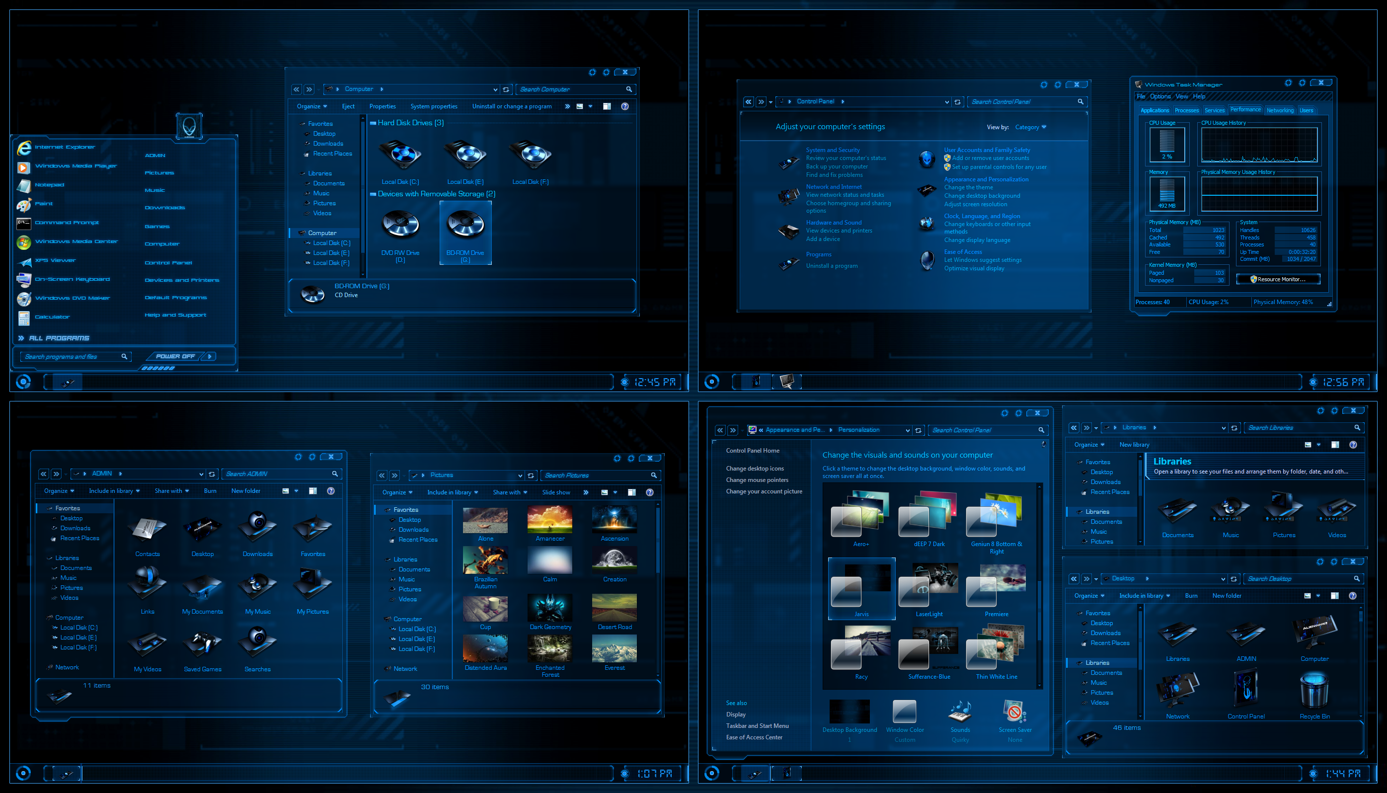 Animated 3d wallpaper jarvis interface - Jarvis By Ultimatedesktops