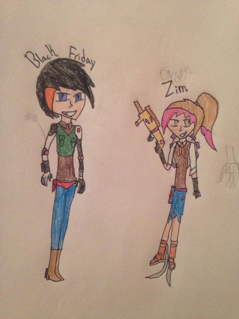 overwatch ocs black friday and zim by riventhecipher on deviantart