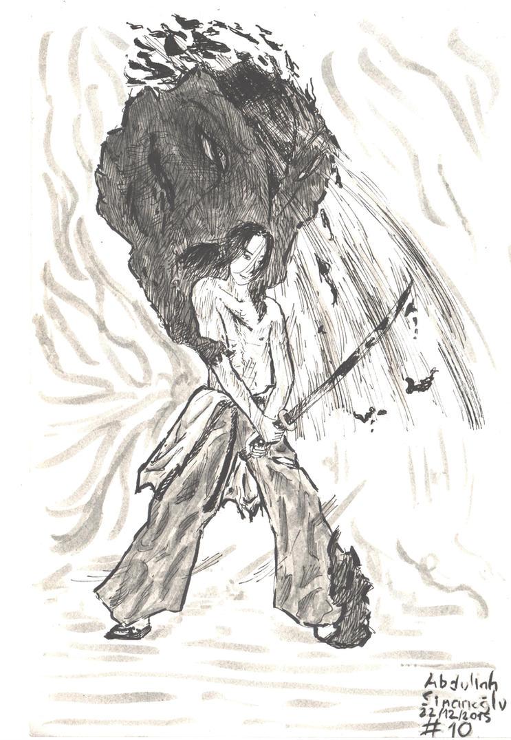 Swordsman -10 by freeart259