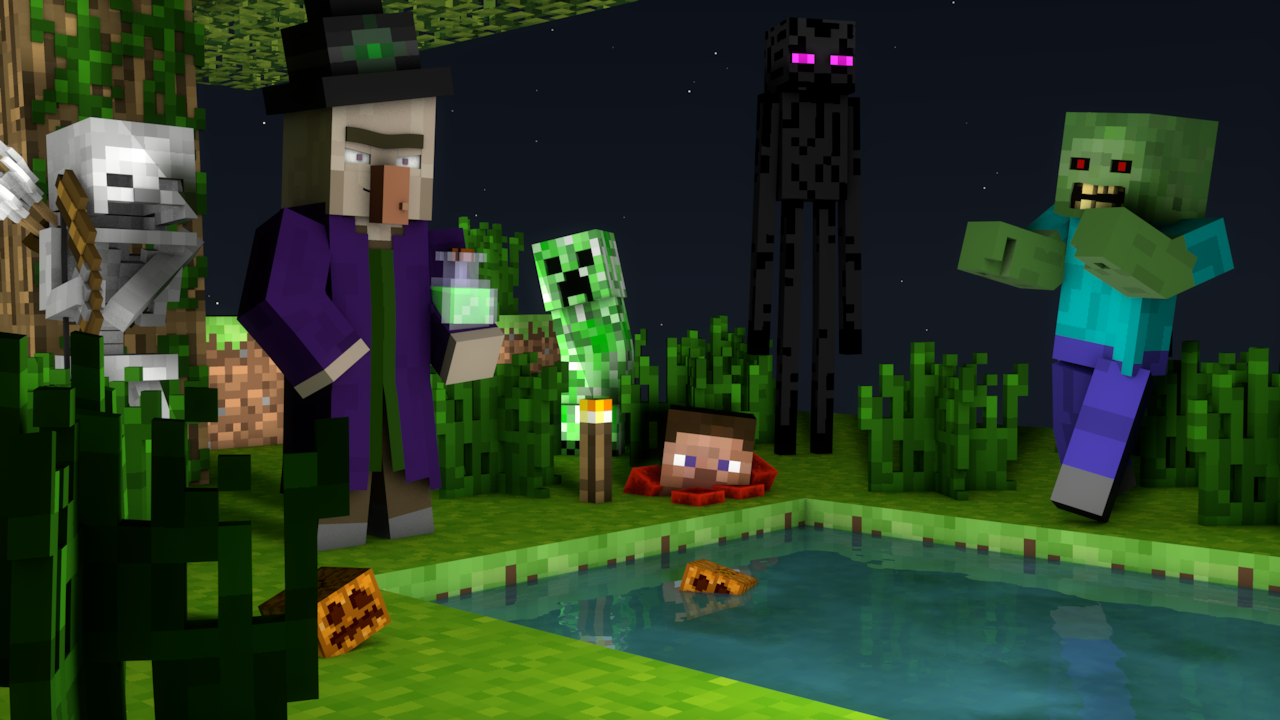 Popular Wallpaper Minecraft Halloween - night_render_by_lebronanimates16-d8sd4qe  Photograph_88269.png