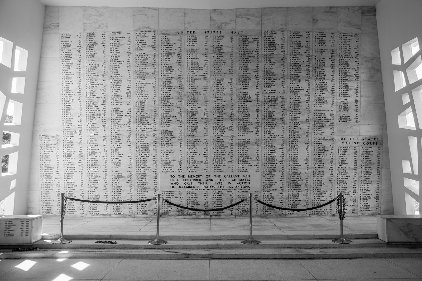 Tomb of the USS Arizona by sullivan1985