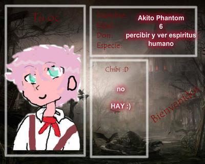 .:Akito Phantom:. by sunny13333