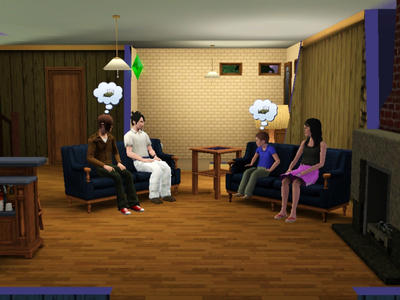 sims 3 Gay couple have children by sunny13333