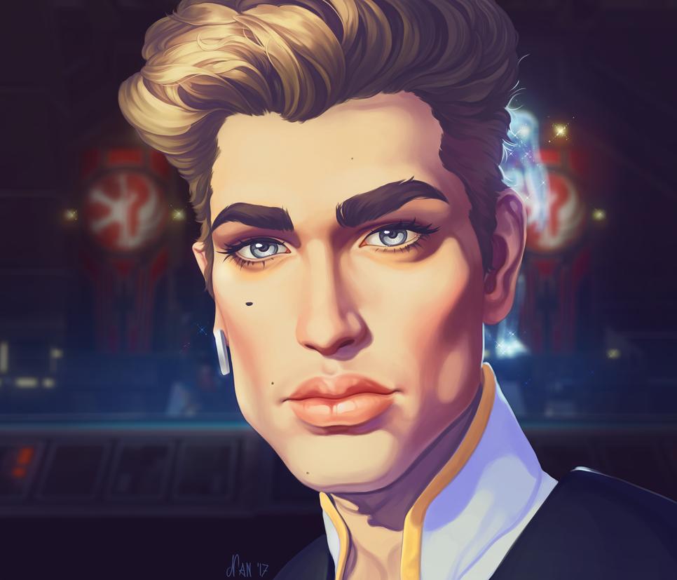 Alliance Posterboy by KaraNan