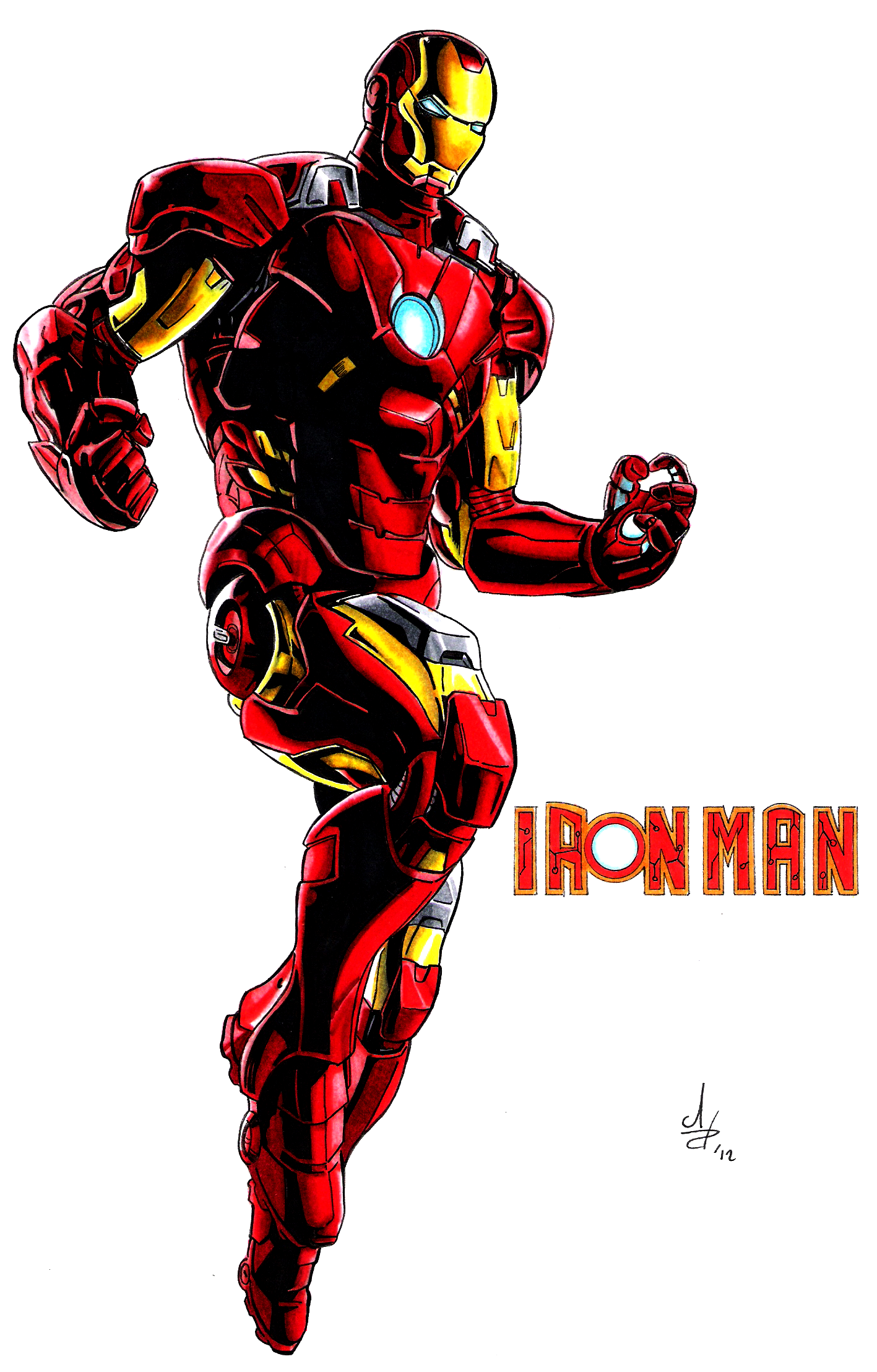 Iron man animated avengers - photo#3
