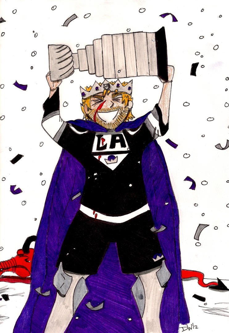 Stanley Cup Champion by DwDrawings