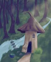Witches Hut by cadavis3
