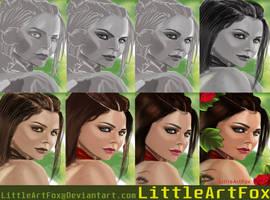 Steps of Haifa by LittleArtFox