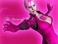 Jill Valentine Pink Battlesuit by XLadyMissValentineX