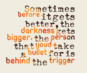 Behind the Trigger