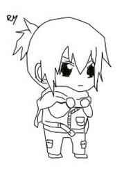 Nezumi: No. 6 Chibi by Ryu--Sama
