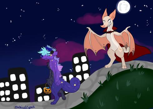 Spooky scary!!! (Team Trick)